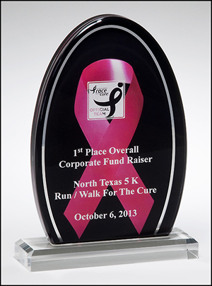 engravable acrylic award