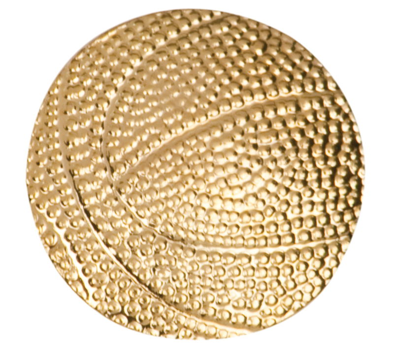 Basketball Chenille Sport Pin