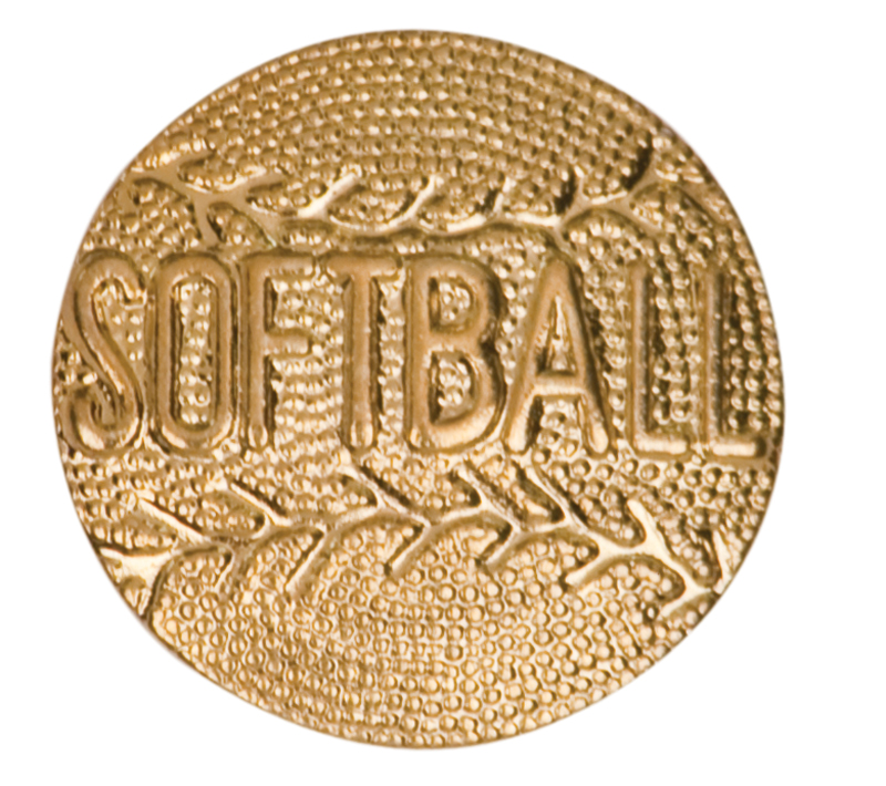 Softball Chenille Sport Pin