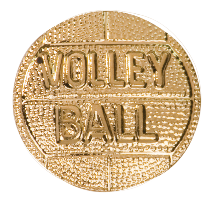 Volleyball Ball Chenille Sport Pin