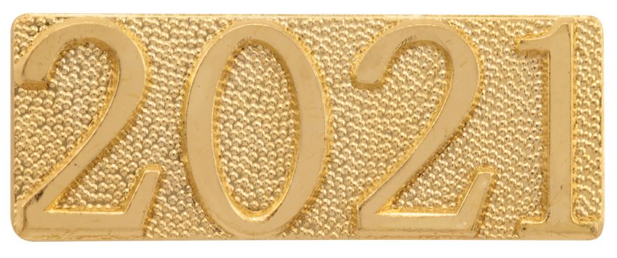 2021 Year Chenille Sport Pin