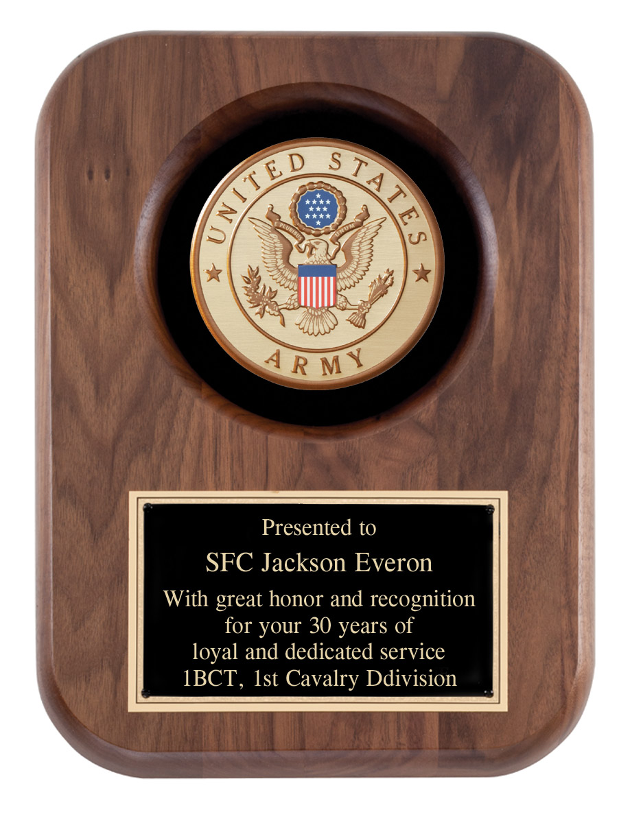 US Navy Recognition Wall Plaque