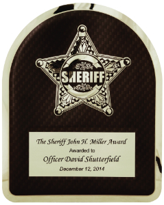 HERO Sheriff Plaque