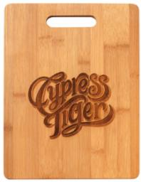 Engravable Rectangle bamboo cutting board