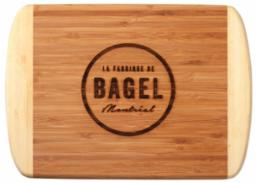 Engravable bamboo rectangle cutting board