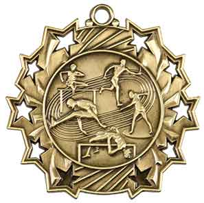 Track and Field Ten Star Medal