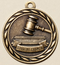 Student Council Medal