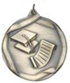 MS662 Engravable Scholastic School Graduation Medallion