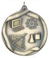 MS663 Engravable Science Medallion