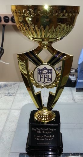 Gold Cup Fantasy Football Trophy