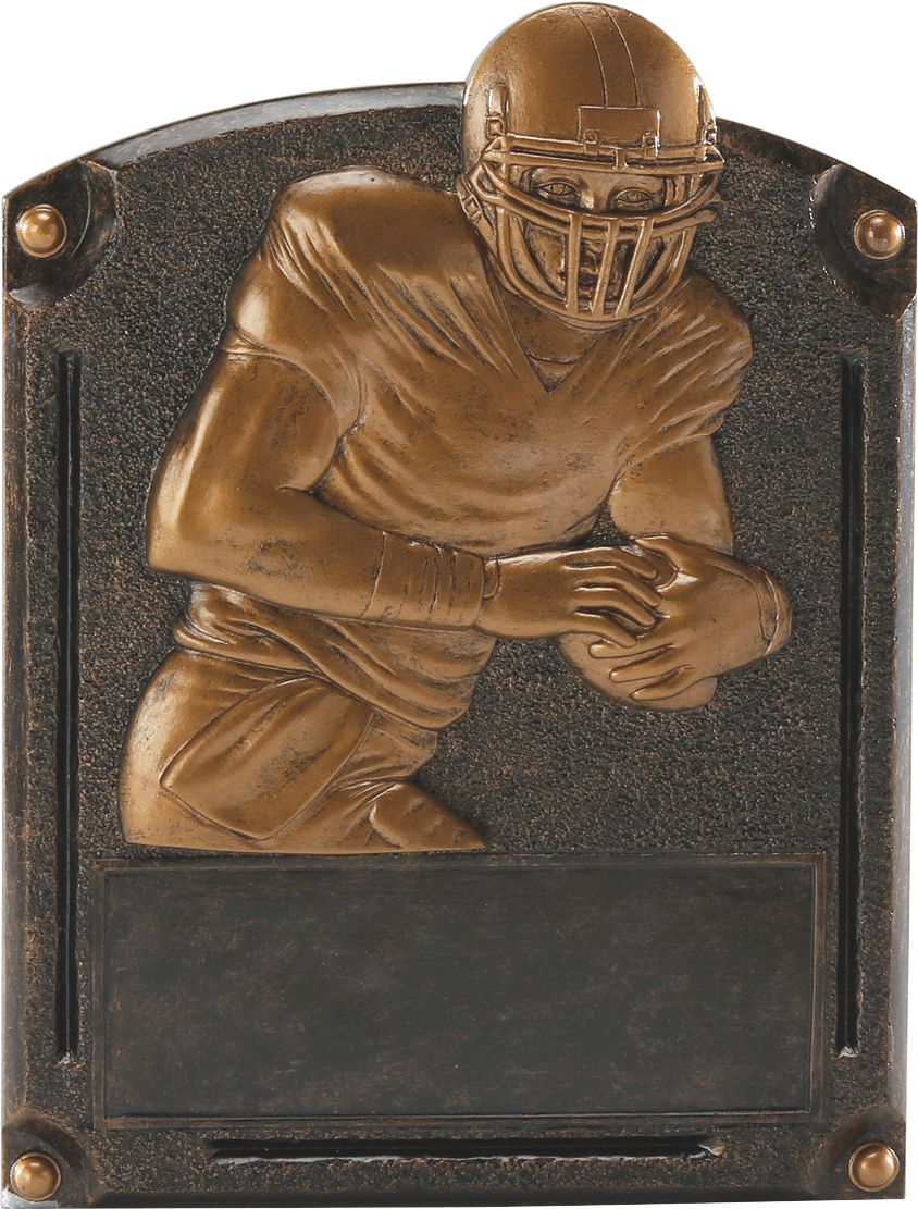 Football Legends Resin Trophy
