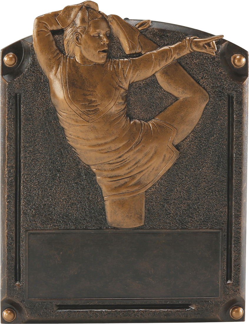 Cheerleading Legends Resin Trophy