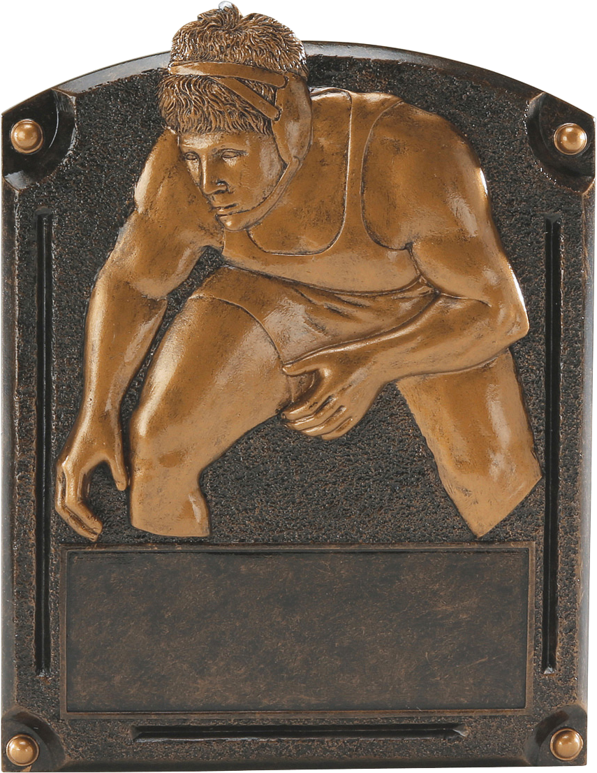 Wrestlingl Legends Resin Trophy