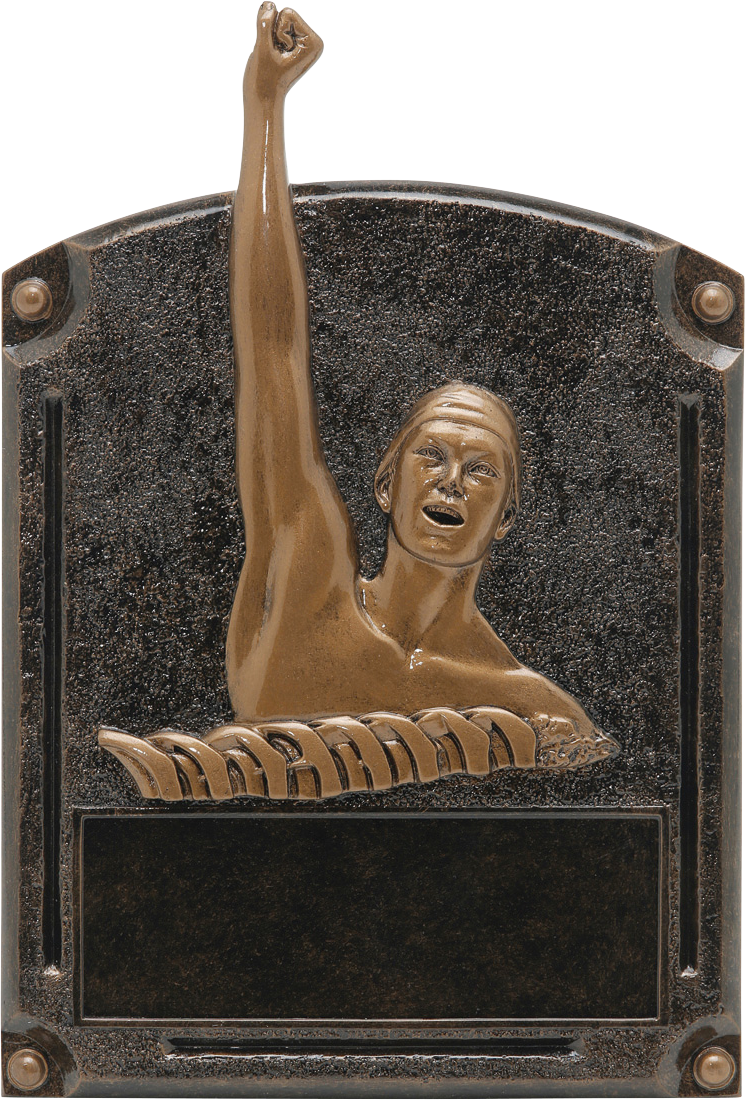 Male Swim Legends Resin Trophy