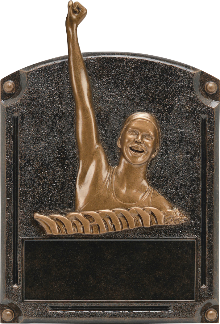 Female Swim Legends Resin Trophy