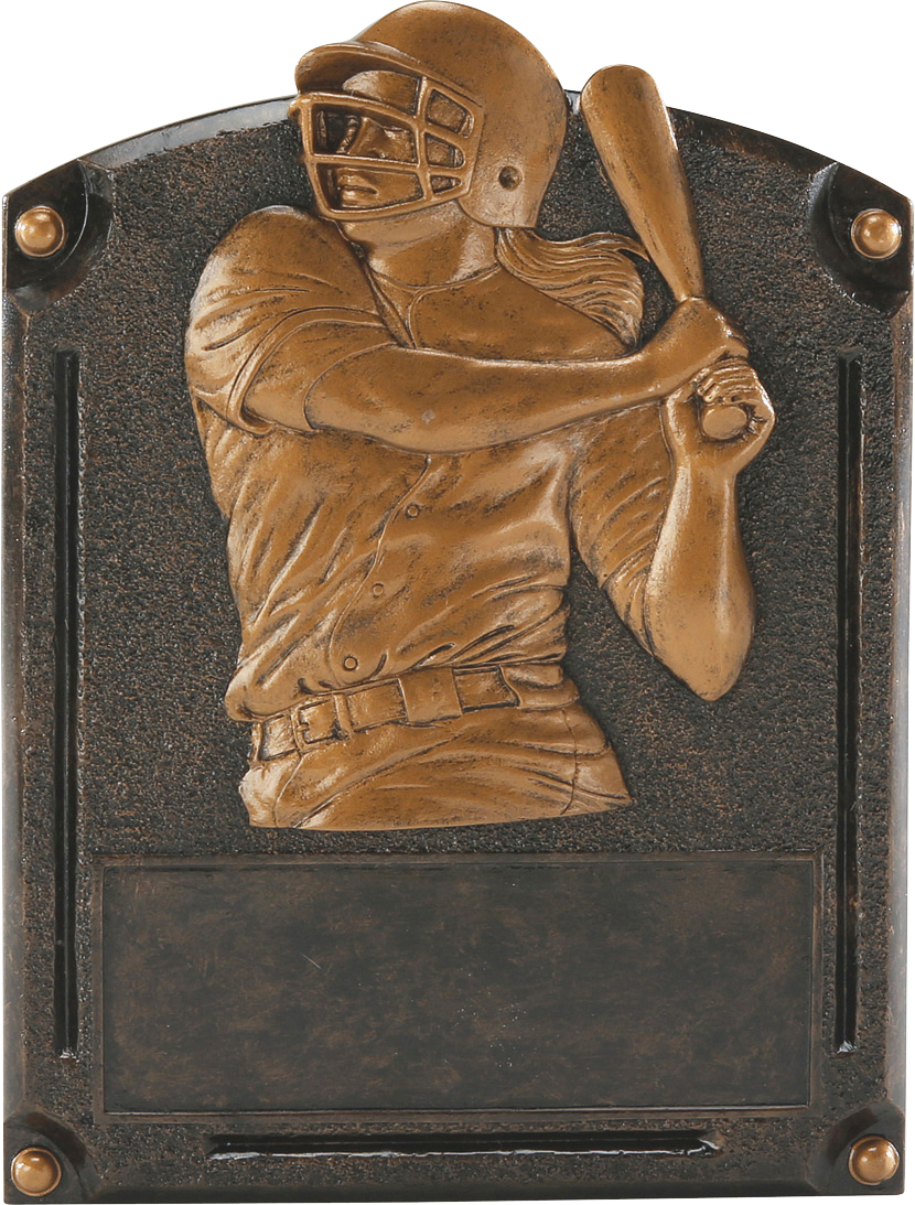 Female Softball Legends Resin Trophy