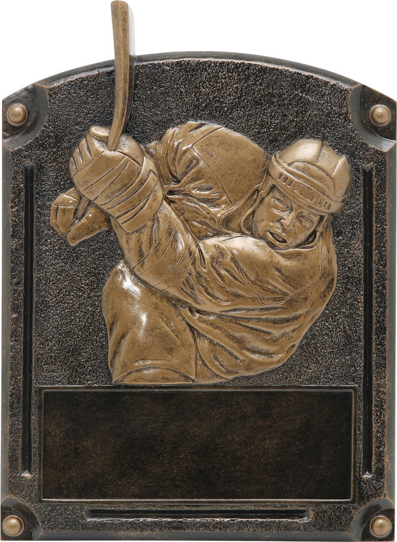 Hockey Legends Resin Trophy