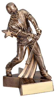 Baseball Superstar Resin Trophy