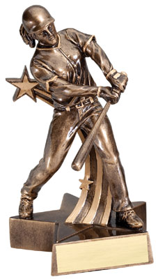Softball Superstar Resin Trophy